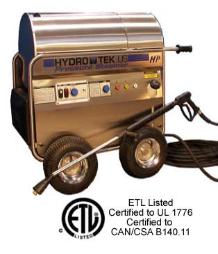 HP Series - Hot Water - Portable Electric, Diesel Fired