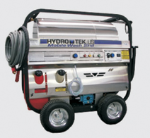 Hot / Cold / Steam Self Contained Pressure Washer